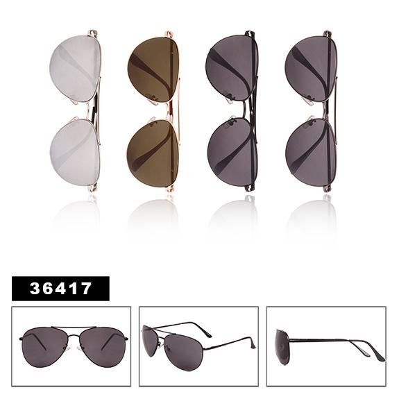 Sunglasses Spring Hinge Aviator Inspired Large Frame