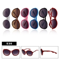 Large Lens Fashion Sunglasses for Ladies