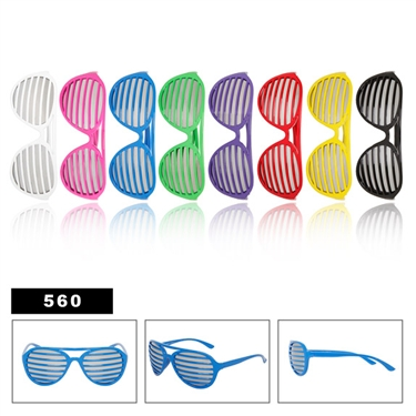 Great combo of to popular style of wholesale sunglasses