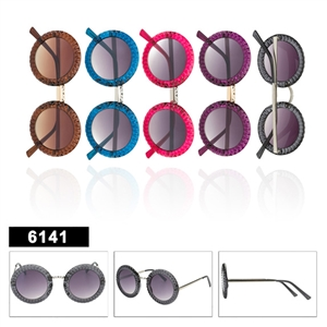 Wholesale Retro Round Lens Sunglasses