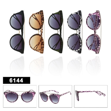 Animal Printed Cat Eye Sunglasses