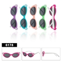 Cool wholesale flower sunglasses