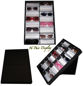 Satin lined folding display tray wholesale