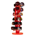 Orange rotating countertop display rack wholesale
