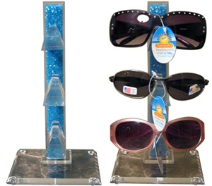 Wholesale display stand- holds 3 pairs