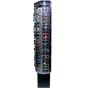 Floor Model Rotating Sunglass Display