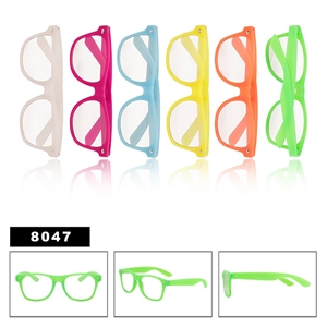 Glow in the Dark Clear Lens California Classics
