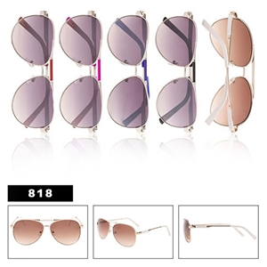 Wholesale Metal Aviators 818