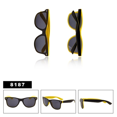 California Classics Sunglasses Yellow & Black