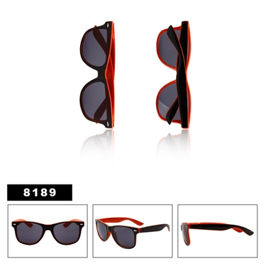 Wholesale California Classics Sunglasses Black & Orange