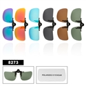 Wholesale Polarized Clip On Sunglasses 8273