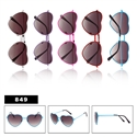 Heart Shape Novelty Sunglasses for ladies