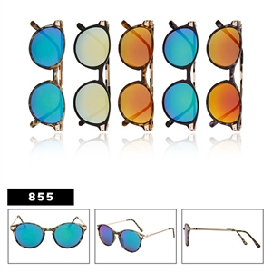 Mirrored Fashion Sunglasses Wholesale