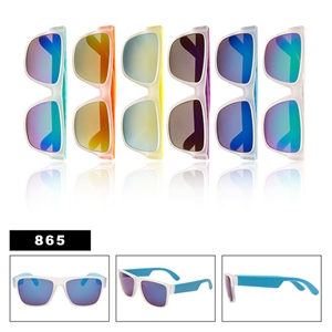 Unisex Wholesale Sunglasses with Mirror Lens