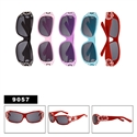 Cute Faux Rhinestone Sunglasses for Kids 9057