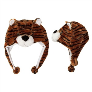 "Wholesale ""Brown TIger"" Animal Hats A105"