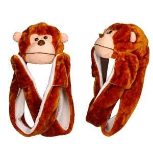 "Wholesale ""Monkey with Long Arm "" Animal Hats A109"