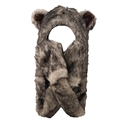 "Wholesale ""Grey Wolf with Long Arm "" Animal Hats A121"