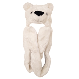 "Wholesale ""Polar Bear with Long Arm "" Animal Hats A122"