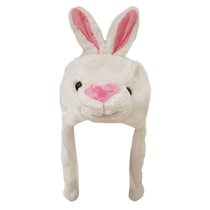 "Wholesale ""White Bunny"" Animal Hats A133"