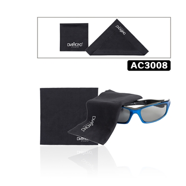 Diamond Micro fiber cleaning cloths allow you to clean your sunglasses without chemicals