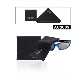 Zombie Eyes Micro fiber cleaning cloths allow you to clean your sunglasses without chemicals