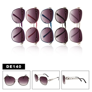 DE140 Wire Frame Fashion Sunglasses