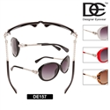 Ladies Rhinestone Sunglasses with Leopards!