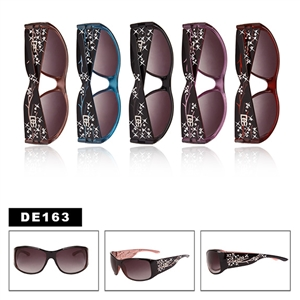 Womens Rhinestone Sunglasses DE163