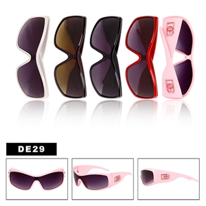 Fashionable sporty style wholesale womens sunglasses