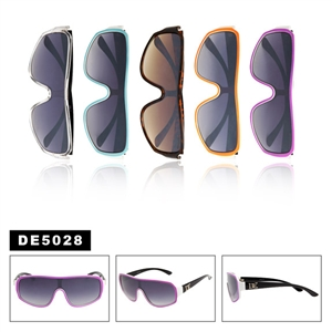 Unisex One Piece Lens Wholesale Sunglasses