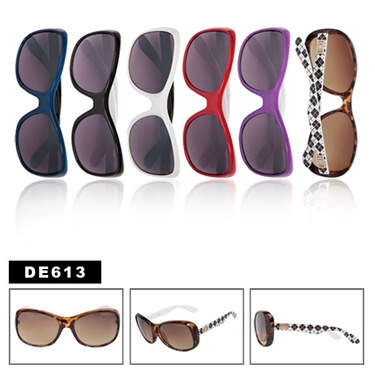 Checker Designer Eyewear Sunglasses