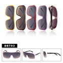 "One Piece Lens Sunglasses DE703 Designer Eyewearâ""¢"