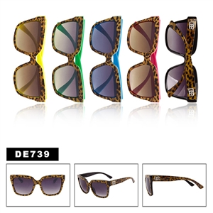 Fashion Animal Print Sunglasses DE739