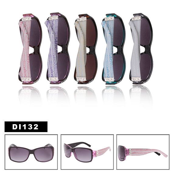 55d61d8f5fd Diamond Eyewear DI132 Women s Rhinestone Sunglasses