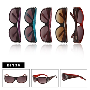 Ladies Wholesale Sunglasses with Rhinestones