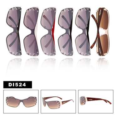 Wholesale One Piece Lens Sunglasses DI524