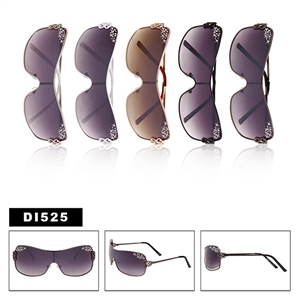 Rhinestone Ladies Sunglasses DI525