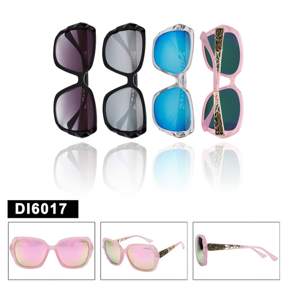 Diamond Eyewear Women/'s Rhinestone Sunglasses DI503