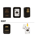 Brass Oil Lighter-Ace of Spades-K007