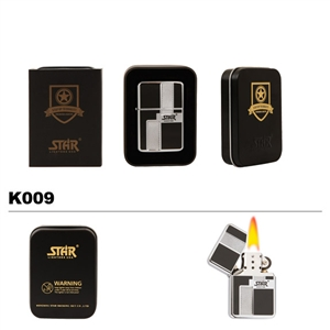 Brass Oil Lighter-STAR-K009