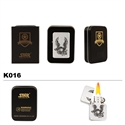 "Brass Oil Lighter-""LIBERTY""-K016"