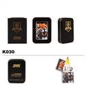 Brass Oil Lighter-Tiger-K030