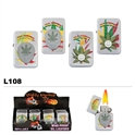 oil lighters wholesale assorted pot leaf