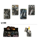 Assorted handguns oil lighters wholesale L130