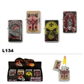 Assorted  Sturgis & Skulls Wholesale Oil Lighters L134