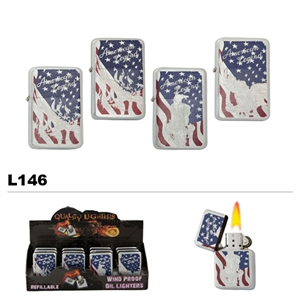Assorted American Legend Wholesale Oil Lighters L146
