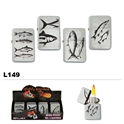 Assorted Fishing Wholesale Oil Lighters L149