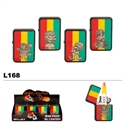 Assorted Reggae Cartoon Wholesale Oil Lighters L168