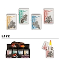 Assorted Flames & Motorcycles Wholesale Oil Lighters L172